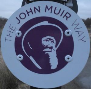 John Muir Waymarker